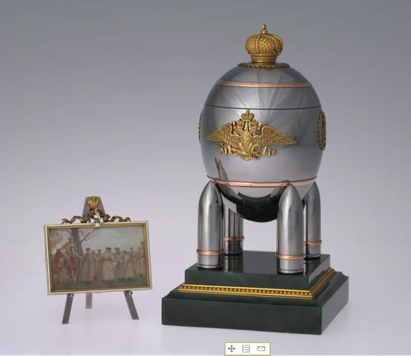 Пасхальное яйцо Фаберже, 1916 г. Музей Московского Кремля