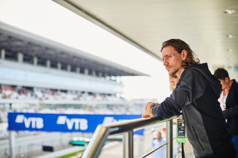 Сергей Полунин стал гостем Формулы-1