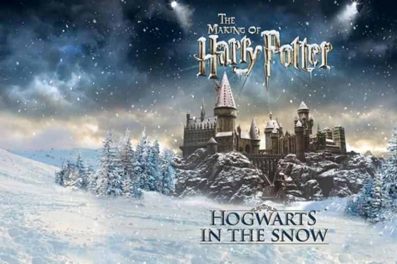 Рождественская магия «Заснеженного Хогвартса»
