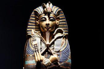 В галерее Саатчи  открылась выставка «Тутанхамон, сокровища фараона»