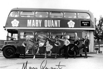 Мэри Куант в Музее Виктории и Альберта