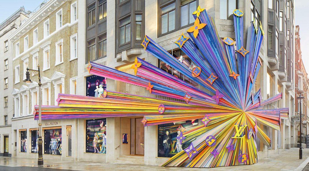 Обновленный Louis Vuitton в Лондоне