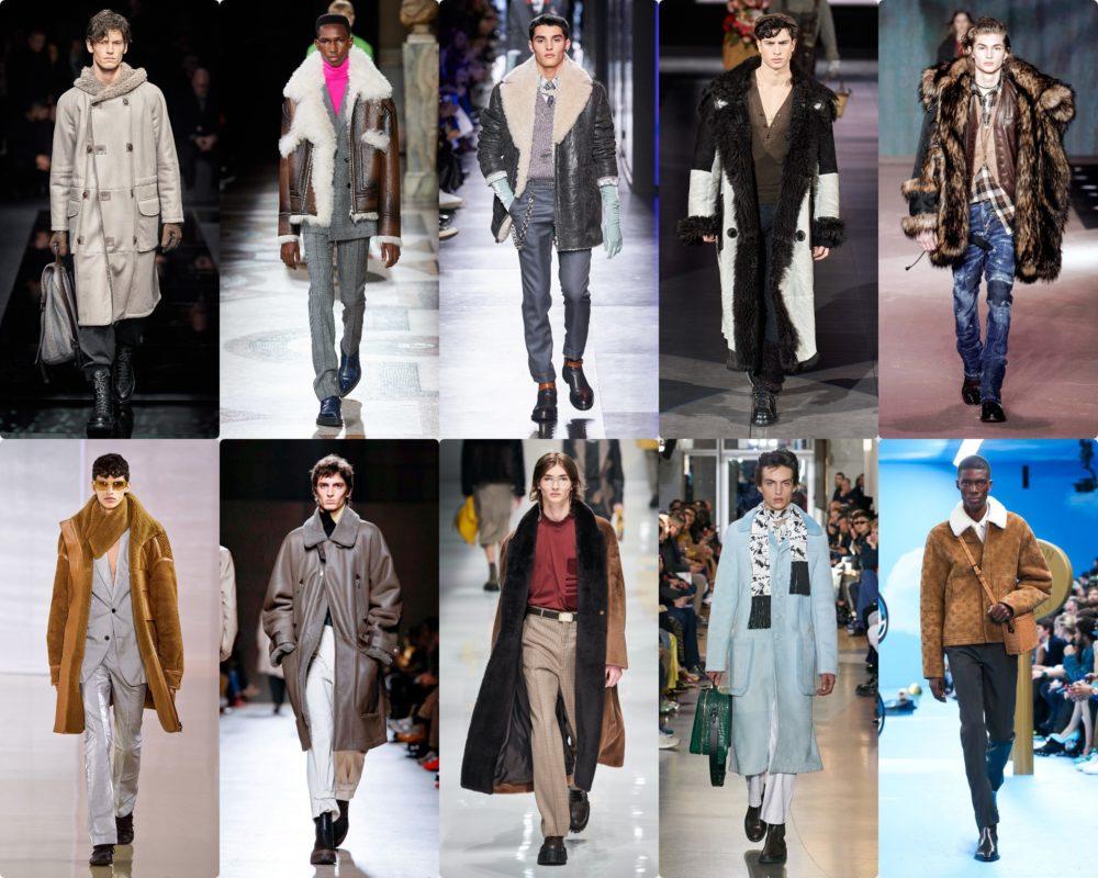 Слева направо: Armani, Berluti, Dior, Dolce Gabbana, Dsquare2, Acne Studios, Hermes, Fendi, Lanvin, Louis Vuitton
