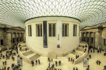 Британский музей можно посетить виртуально