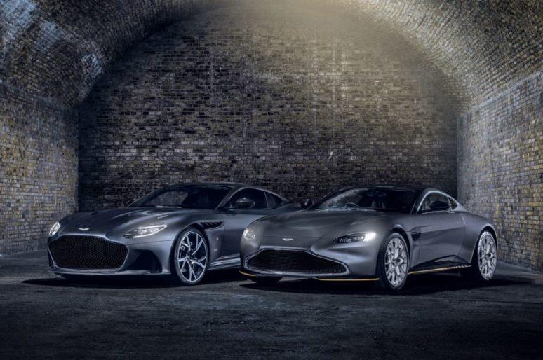 Суперкары Aston Martin в честь премьеры фильма о Бонде