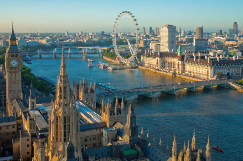 Лучшие бары на крышах Лондона