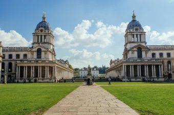 Лондон: параллели и меридианы Гринвича