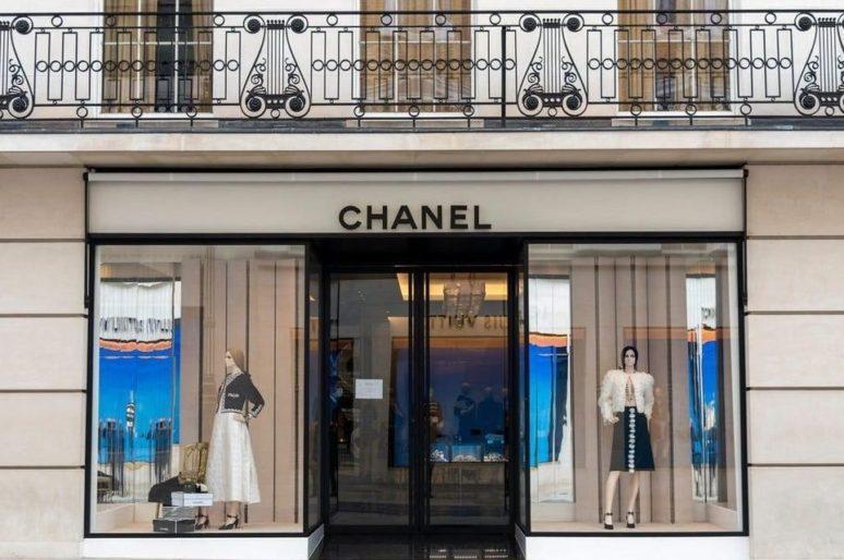 Лондон: Флагманский бутик Chanel на Бонд-стрит