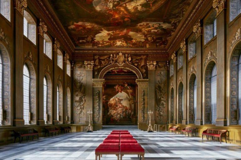 Лондон: Расписной зал в Гринвиче