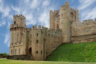 Средневековая Англия: Уорикский замок