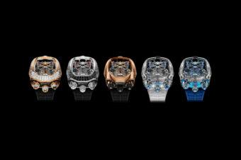 Bugatti Chiron Tourbillon: двигатель в сердце часов