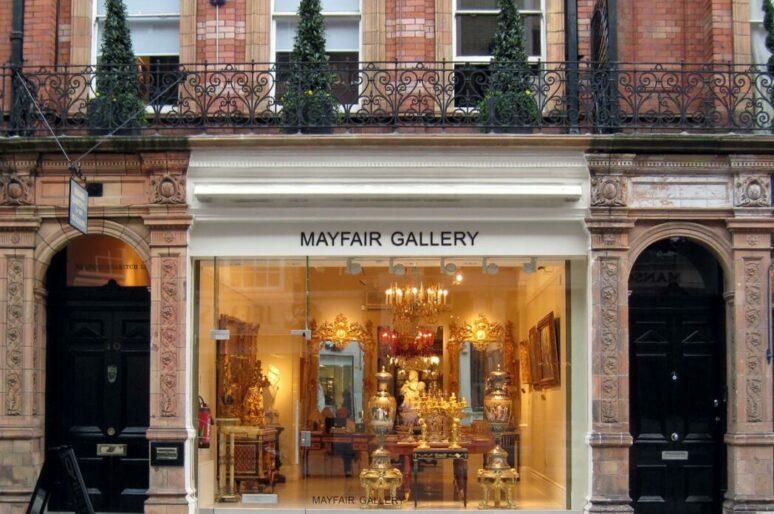 Mayfair Gallery: сокровищница антикварных вещей
