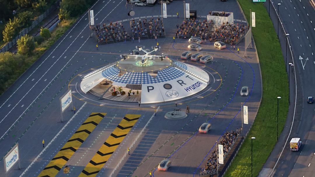 аэропорт для летающих такси