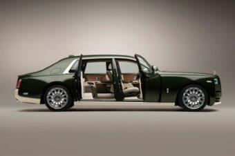 Rolls-Royce Motor Cars в сотрудничестве с Hermès создала уникальный Phantom Oribe