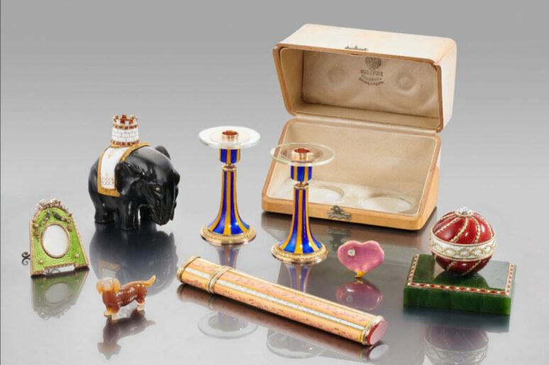 Christie's выставляет на торги коллекцию Фаберже Александры Анастасии Гамильтон