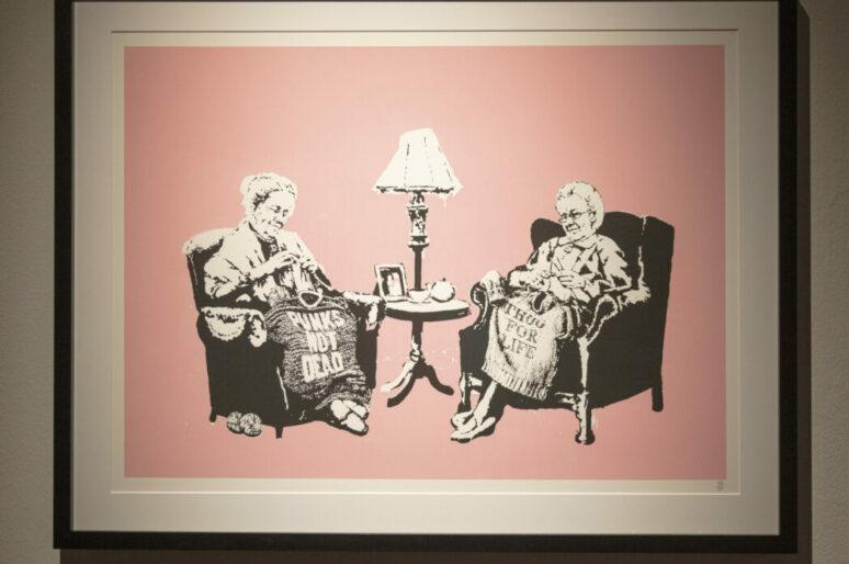В Ковент-Гардене открылась масштабная выставка работ Бэнкси