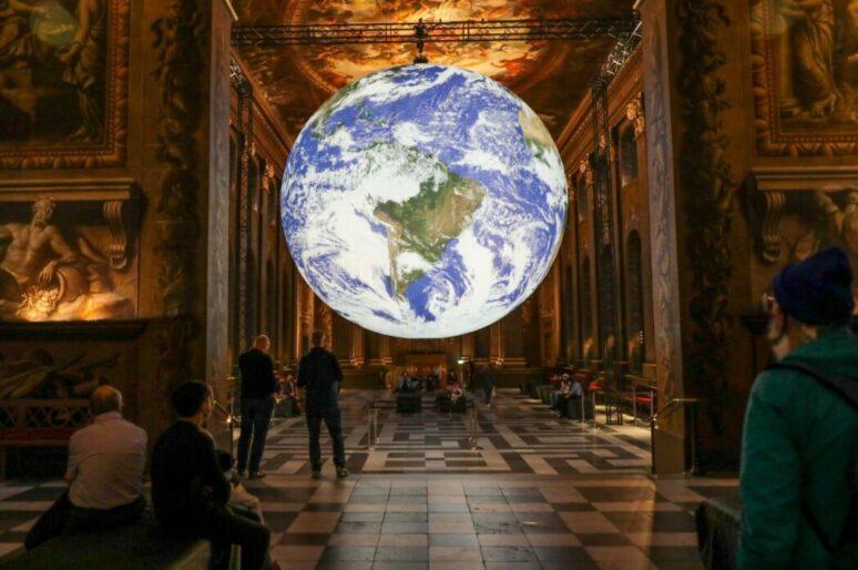 Популярная инсталляция Земли вернется в Гринвич этим летом