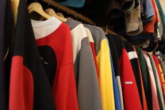 Новый магазин винтажной одежды в Сохо
