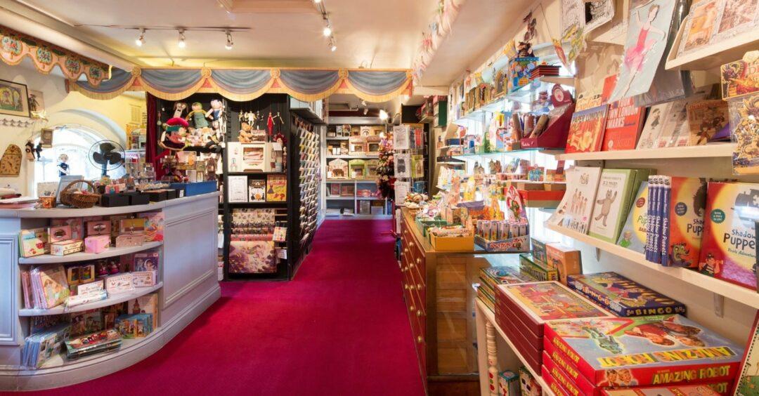 магазины игрушек лондона