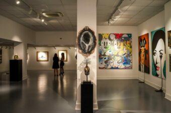 В Miart Gallery London открылась масштабная выставка современного искусства