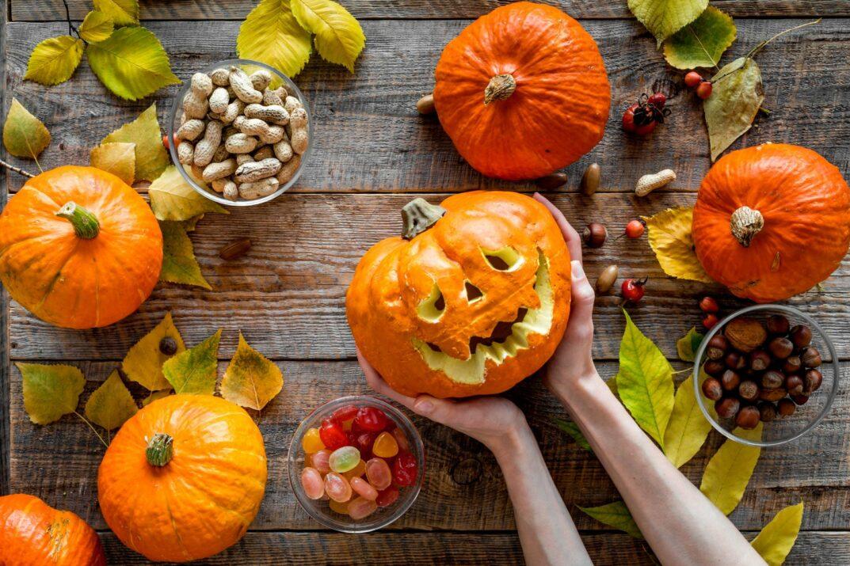 тыквы для хэллоуина